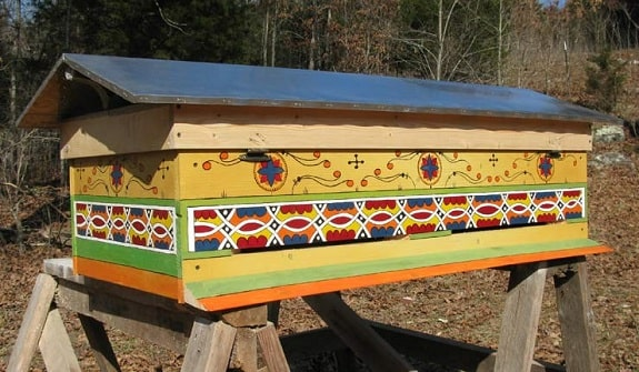Gable Roof Hive Top